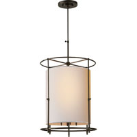 Visual Comfort Thomas OBrien Bryant 4 Light Foyer Pendant in Bronze TOB5105BZ-NP
