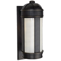 Visual Comfort Thomas OBrien Longacre 1 Light Outdoor Wall Lantern in Bronze with Wax TOBO2120BZ