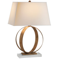 Visual Comfort CHA8531GI-NP E. F. Chapman Rings 28 inch 100 watt Gilded Iron with Wax Decorative Table Lamp Portable Light