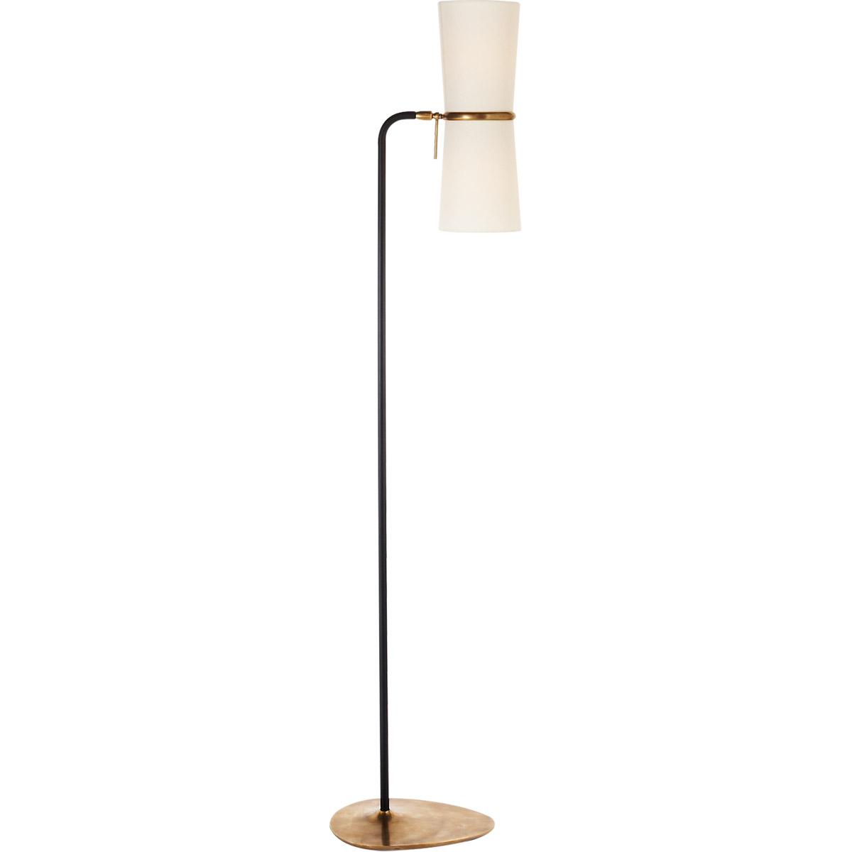 Picture of: Visual Comfort Arn1003blk L Aerin Clarkson 58 Inch 40 Watt Black And Brass Floor Lamp Portable Light