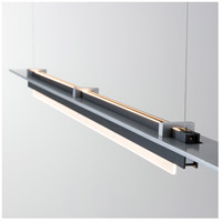 Vermont Modern 139920-1012 Plank LED 3 inch Black with Silver Pendant Ceiling Light