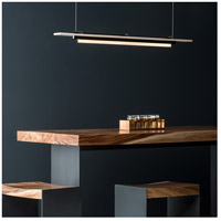 Vermont Modern 139920-1012 Plank LED 3 inch Black with Silver Pendant Ceiling Light alternative photo thumbnail