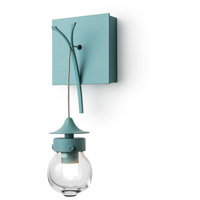 Kiwi 1 Light 5 inch Satin Aqua ADA Sconce Wall Light