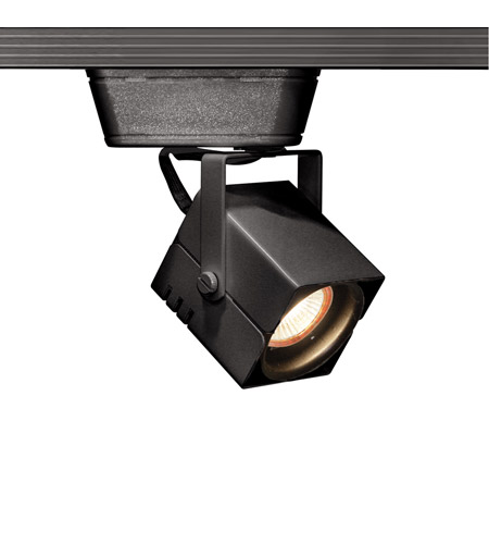 WAC Lighting HHT-801L-BK 120V Track System 1 Light 12V Black Low Voltage Directional Ceiling Light in 75, H Track photo
