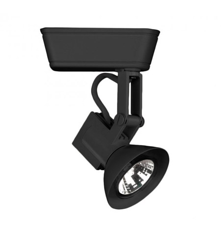 WAC Lighting LHT-856-BK 120V Track System 1 Light 12V Black Low Voltage Directional Ceiling Light in 50, L Track photo