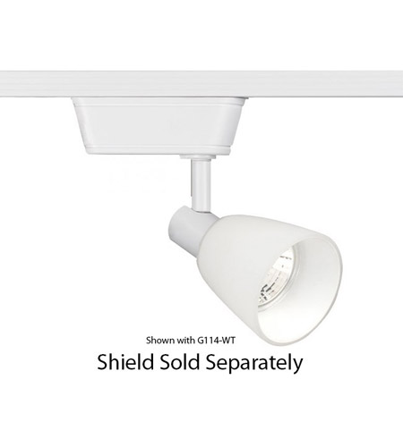 pretty nice 5f88a 07fb2 H Track - Low Voltage Track Head 1 Light 12V White Track Lighting Ceiling  Light in 50