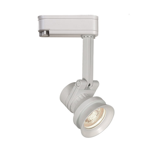 Wac Lighting Jht 163l Wt J Track Low Voltage Head 1 Light 12v White Ceiling In 75 J2