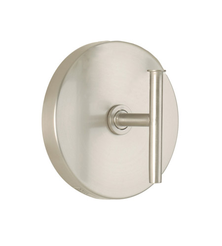 WAC Lighting Wall Sconce 120V 60W Round Back Plate in Brushed Nickel WS-120-BN photo