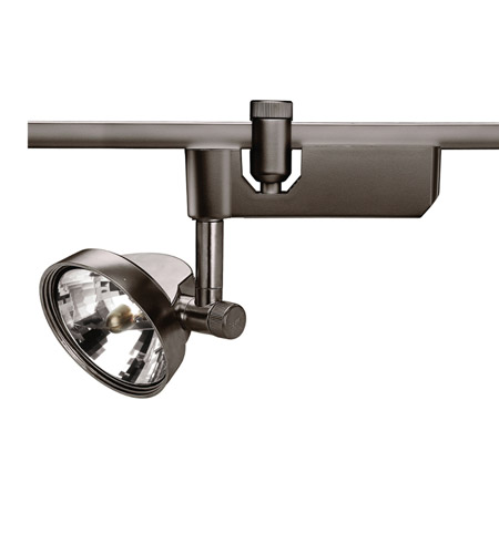WAC Lighting Flexrail1-Low Voltage Trackhead-75W in Dark Bronze HM1-936L-DB photo
