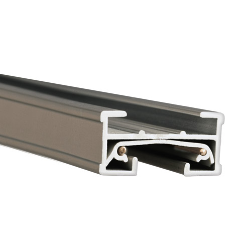 WAC Lighting JT2-BN 120V Track System Brushed Nickel Track Section Ceiling Light in 24in photo