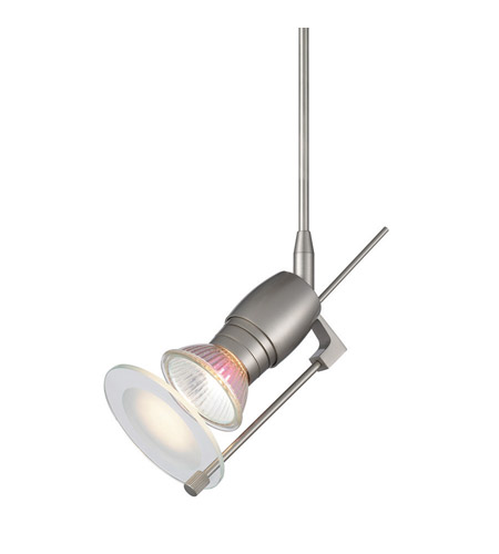 WAC Lighting Qc Fixture-No Shade/Glass-6In Ext in Brushed Nickel QF-191X6-BN photo