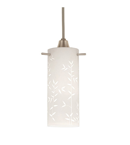 WAC Lighting Line Voltage Canopy Mount Pendant Kit in Brushed Nickel PLD-F2-474WT/BN photo