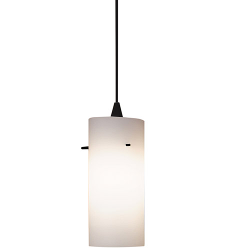 WAC Lighting JTK-F4-454WT/BK Contemporary 1 Light 5 inch Black Pendant Ceiling Light in 100, White (Contemporary), J Track photo