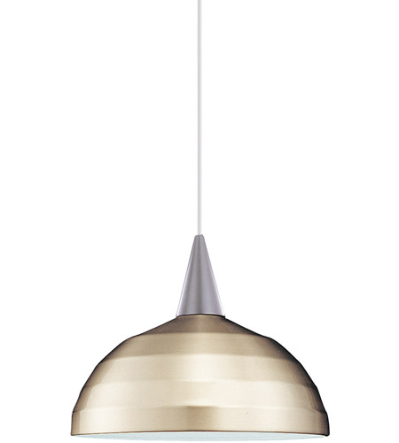 WAC Lighting LTK-F4-404BN/BN Cosmopolitan 1 Light 12 inch Brushed Nickel Pendant Ceiling Light in 100, L Track photo thumbnail