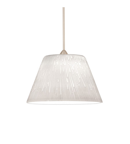 WAC Lighting Dapper Pendant For H Series Track - 120V in Brushed Nickel HTK-598WT/BN photo