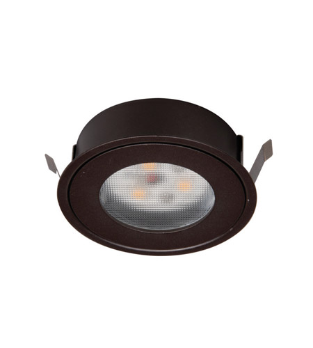 Superieur WAC Lighting HR LED COV DB Undercabinet Lighting Dark Bronze Button Light  Retrofit Housing