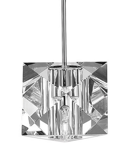 WAC Lighting MP-940-CL/CH Cosmopolitan 1 Light 5 inch Chrome Pendant Ceiling Light in Canopy Mount MP photo