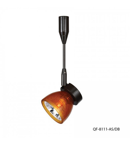 WAC Lighting QF-8111-AS/DB Quick Connect 1 Light Dark Bronze Directional Pendant Ceiling Light photo