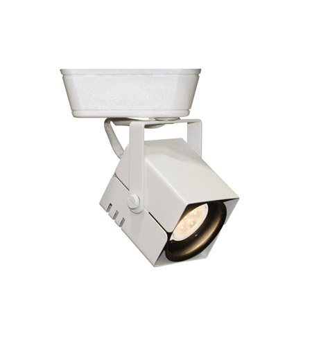 Wac H Track Lighting: WAC Lighting HHT-801LED-WT 120V Track System 1 Light 12V