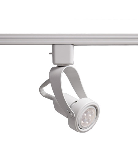 WAC Lighting JTK-104LED-WT TK-104 Miniature 1 Light 120V White J Track Fixture Ceiling Light in LED photo