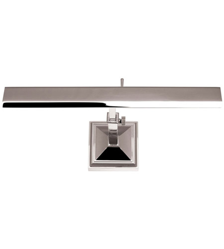 Wac Lighting Pl Led14 27 Pn Hemmingway 9 40 Watt 14 Inch Polished Nickel Picture Light Wall In 14in Hard Wired