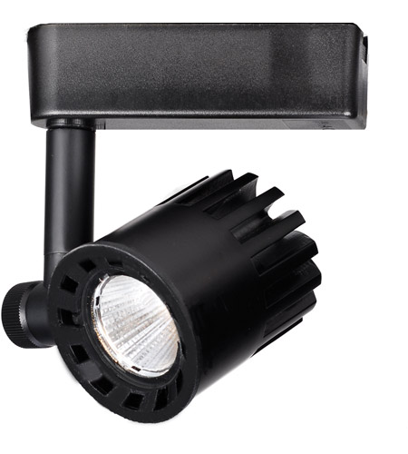 WAC Lighting H-LED20F-35-BK 120V Track System 1 Light 120V Black LEDme Directional Ceiling Light in 3500K, 85, 40 Degrees, H Track photo