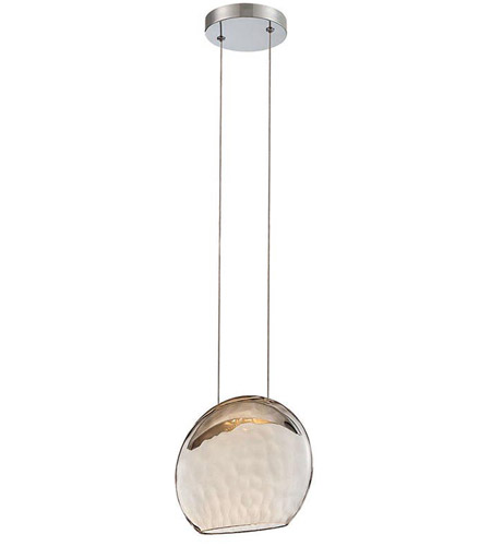 WAC Lighting PD-52008-CH Lolli LED 3 inch Chrome Pendant Ceiling Light photo