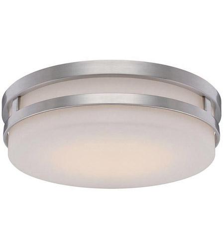 Wac lighting fm 4313 bn vie led 14 inch brushed nickel flush mount wac lighting fm 4313 bn vie led 14 inch brushed nickel flush mount ceiling light aloadofball Gallery