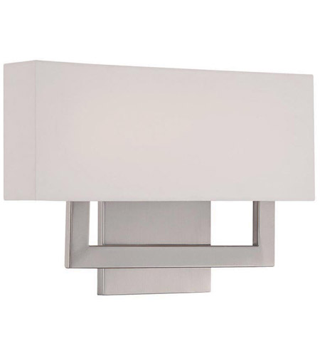 Manhattan Led 15 Inch Brushed Nickel Ada Wall Sconce Light