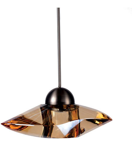 Wac Lighting Mp Led336 Gl Bn Eternity Jewelry Led 7 Inch Brushed Nickel Pendant Ceiling Light In Gold Canopy Mount