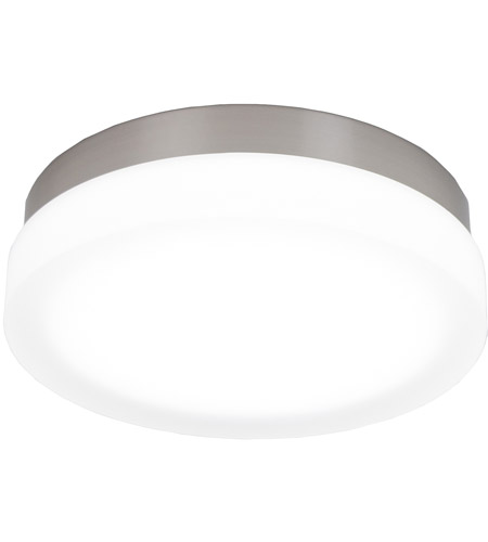 WAC Lighting FM 4111 27 BN Slice LED 11 Inch Brushed Nickel Flush Mount  Ceiling Light In 2700K