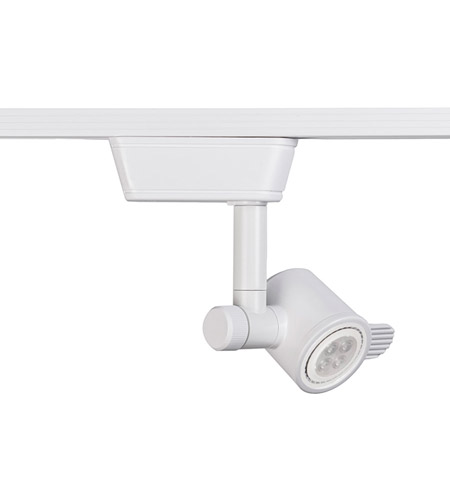 WAC Lighting LHT-846LED-WT 120V Track System 1 Light White Low Voltage Directional Ceiling Light in 8, L Track photo