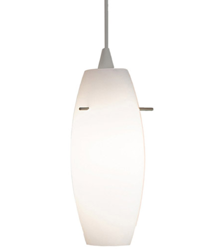 3 Light Led Ceiling Pendant Brushed Nickel Contemporary: WAC Lighting PLD-F4-451LEDWT/BN Contemporary LED 5 Inch