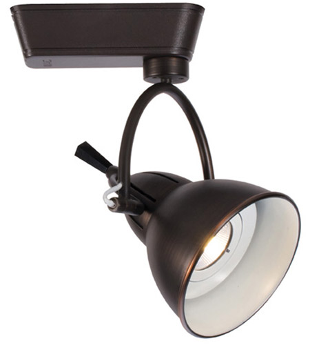 120v Track System 1 Light Antique Bronze Ledme Directional Ceiling In 2700k 32 Degrees H