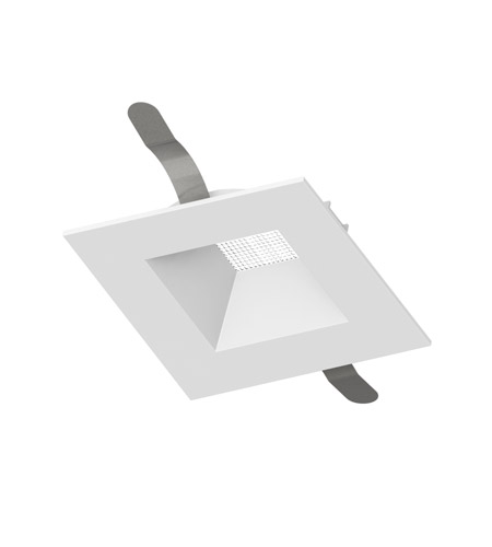 WAC Lighting HR-3LED-T720-WT Aether Recessed Lighting LED White Square White Recessed Trim photo