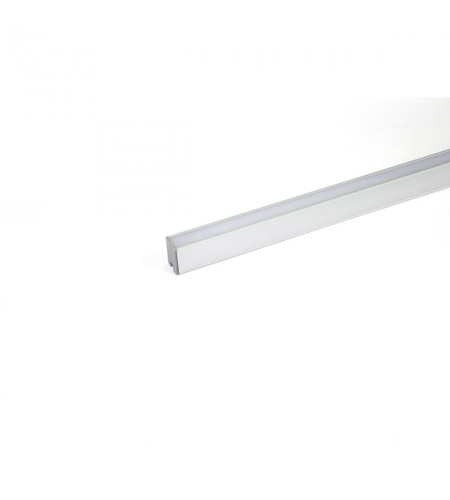 wac lighting ledtch1 invisiled chrome deep aluminum tape light channel - Wac Lighting