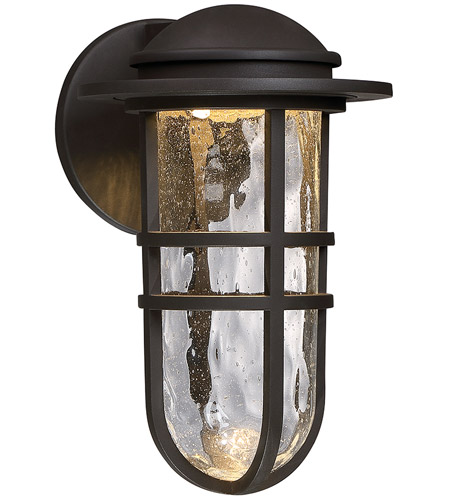 WAC Lighting WS-W24513-BZ Steampunk LED 8 inch Bronze Wall Light photo