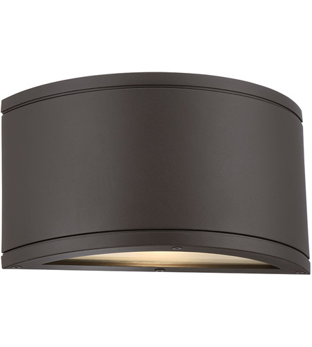 wac lighting wsw2610bz tube led 5 inch bronze wall
