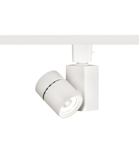 WAC Lighting J-1014F-930-WT 120V Track System 1 Light 120V White LEDme Directional Ceiling Light in 3000K, 90, 40 Degrees, Title 24, J Track photo