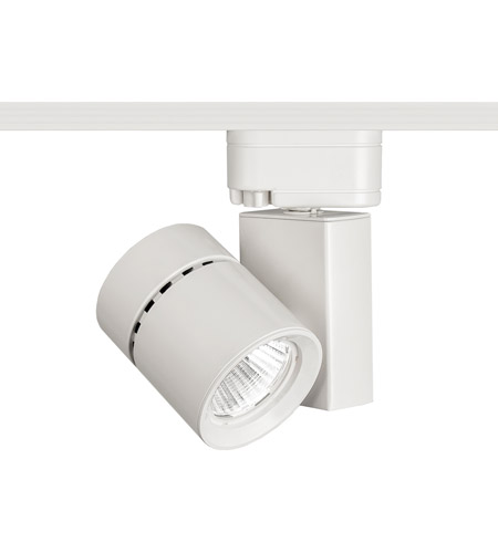 Wac Lighting J 1035n 927 Wt 120v Track System 1 Light White Ledme Directional Ceiling In 2700k 90 25 Degrees Le 24
