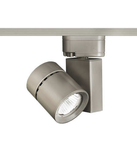 WAC Lighting L-1035F-840-BN 120V Track System 1 Light 120V Brushed Nickel LEDme Directional Ceiling Light in 4000K, 85, 55 Degrees, L Track photo