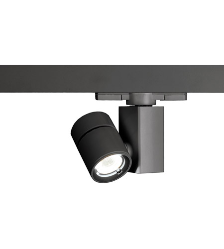 WAC Lighting WTK-1014F-927-BK Architectural Track System 1 Light 120V Black LEDme Directional Ceiling Light in 2700K, 90, 40 Degrees photo