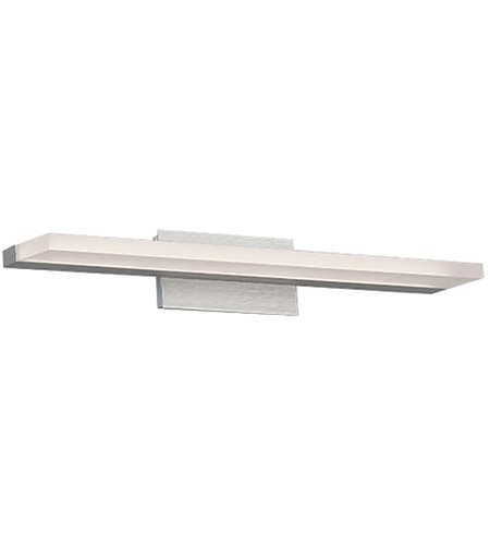 WAC Lighting WS-85618-AL Level LED 19 inch Brushed Aluminum Bath Light Wall Light in 18in, dweLED photo