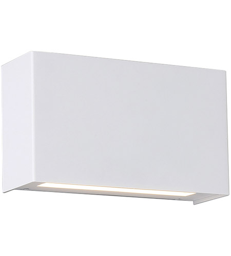 WAC Lighting WS 25612 WT Blok LED 12 Inch White ADA Wall Sconce Light