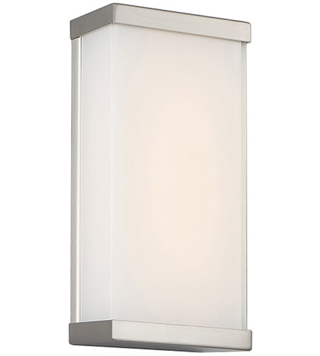 Wac Lighting Ws 7312 Bn Float Led 6 Inch Brushed Nickel Ada Wall Sconce