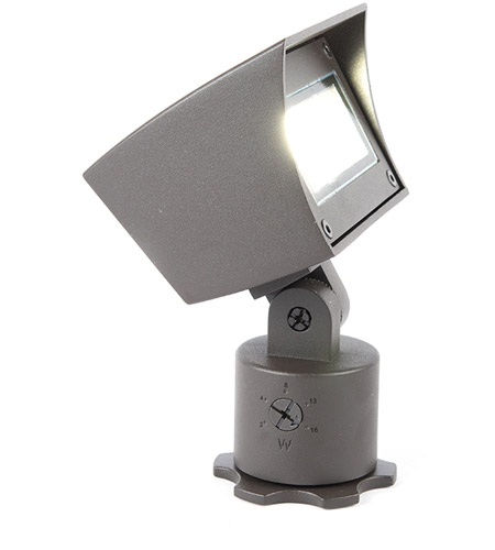 WAC Lighting 5021-30BZ Landscape LED 6 inch Bronze Flood Light in 3000K, 85 photo