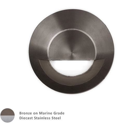 WAC Lighting 2041-30BS Landscape 12v 4.00 watt Bronzed Stainless Steel Step and Wall Light photo
