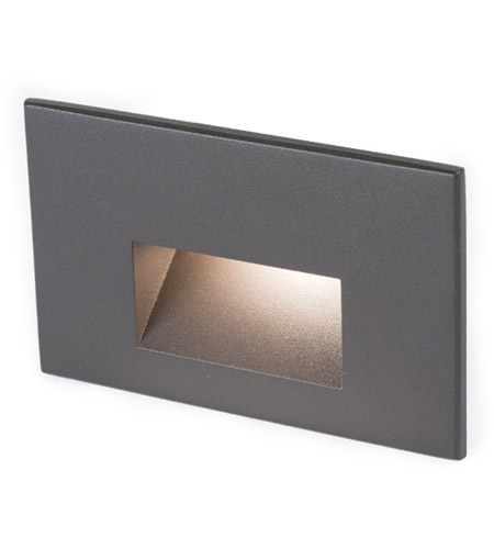WAC Lighting 4011-30BZ Landscape 12v 2.00 watt Bronze Step and Wall Light in 3000K, Frosted photo