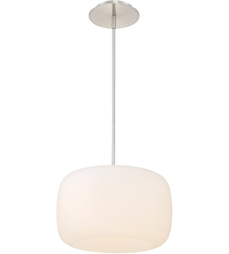 WAC Lighting PD-36714-BN Mallow LED 14 inch Brushed Nickel Pendant Ceiling Light, dweLED photo