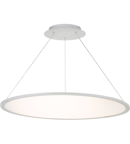 Illusion Led 35 Inch Anium Pendant Ceiling Light In 35in Dweled
